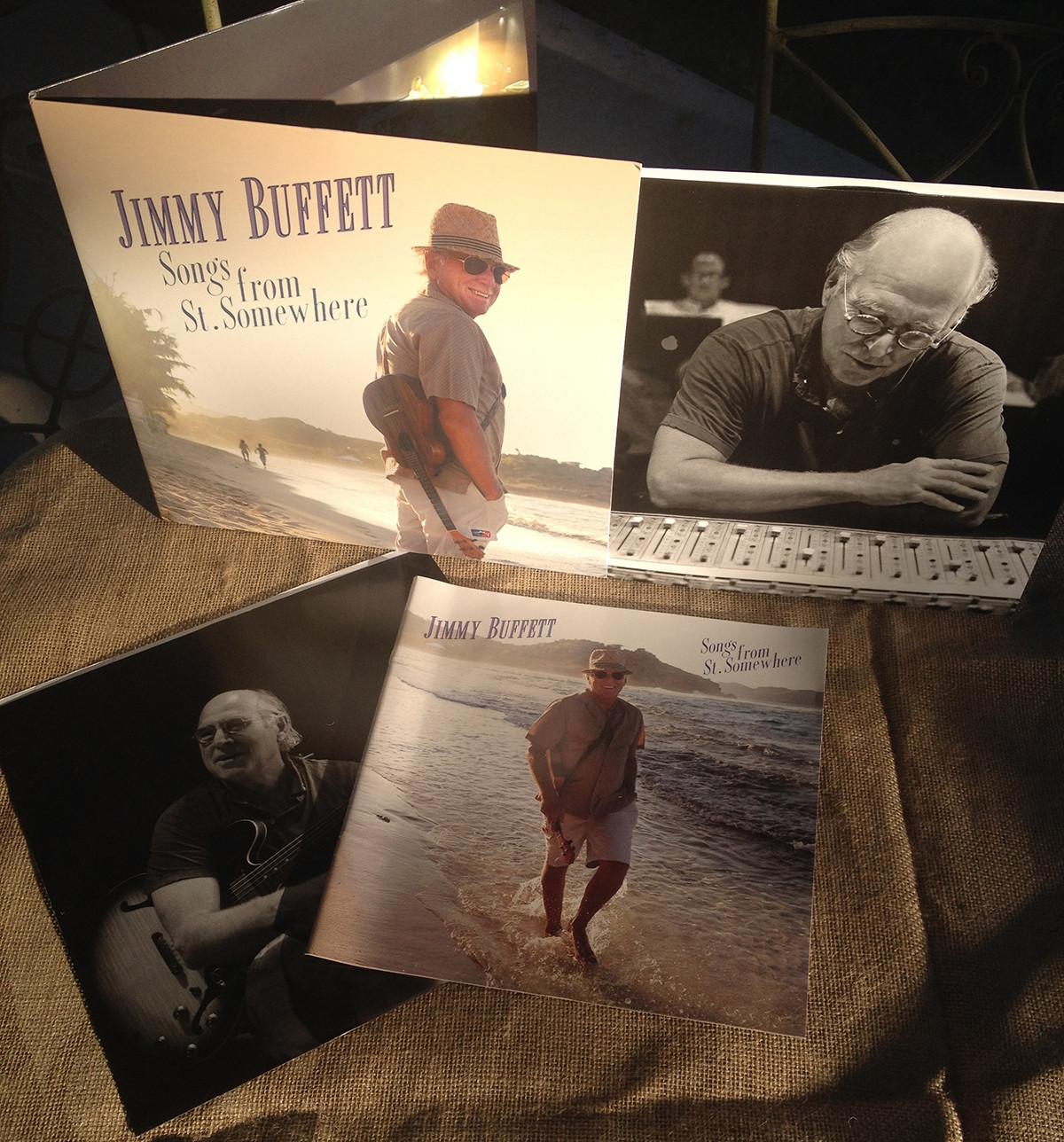 Jimmy Buffett Songs From St.Somewhere vinyl